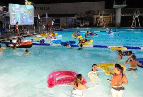Family Flick & Float @ Witham Family YMCA Lap Pool | Lebanon | Indiana | United States