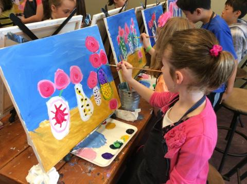 Cookies and Canvas Family Night @ Baxter YMCA | Indianapolis | Indiana | United States