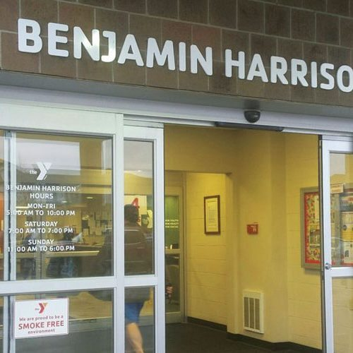 exterior at Benjamin Harrison YMCA | YMCA of Greater Indianapolis