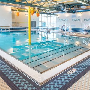 Interior at Irsay Family YMCA at CityWay | YMCA of Greater Indianapolis