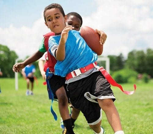 YMCA Youth Sports | Programs & Activities | Youth Development | Flag Football | YMCA of Greater Indianapolis