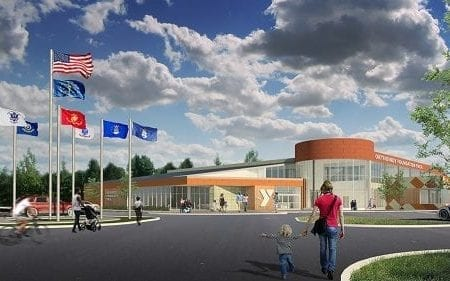 OrthoIndy Foundation Rendering