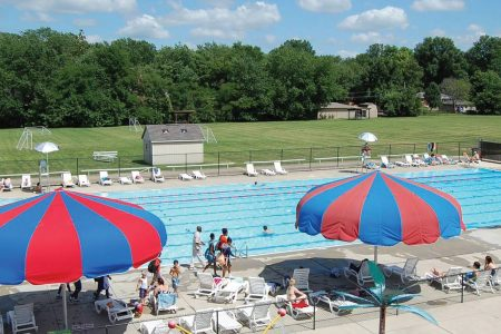 Ransburg outdoor pool