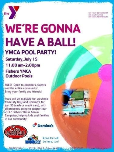 Fishers YMCA Pool Party! @ Fishers YMCA | Fishers | Indiana | United States