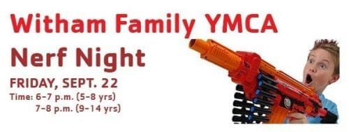 Nerf Night @ Witham Family YMCA