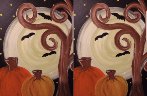 Fall Canvas Painting @ Benjamin Harrison YMCA | Indianapolis | Indiana | United States