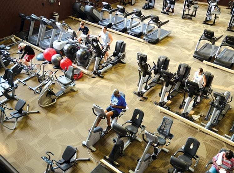 Inside Historic Gym | YMCA at the Athenaeum | YMCA of Greater Indianapolis