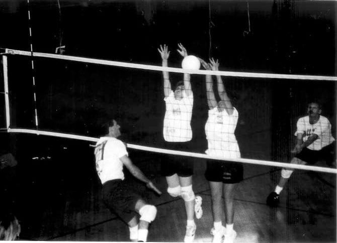 Volleyball inside Historic Gym | YMCA at the Athenaeum | YMCA of Greater Indianapolis