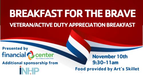 Veteran/Active Duty Appreciation Breakfast @ Benjamin Harrison YMCA | Indianapolis | Indiana | United States