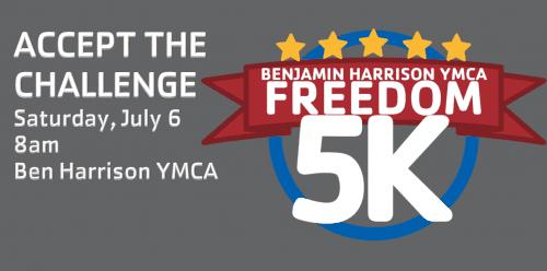 Freedom 5K - Benjamin Harrison YMCA @ Benjamin Harrison YMCA | Indianapolis | Indiana | United States