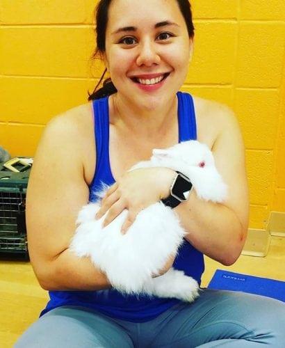 bunny yoga 2