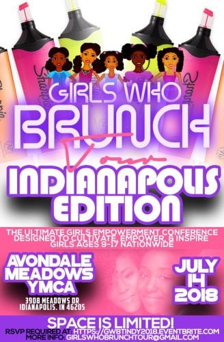Girls Who Brunch Tour Indianapolis Edition 2018 @ Avondale Meadows YMCA | Indianapolis | Indiana | United States