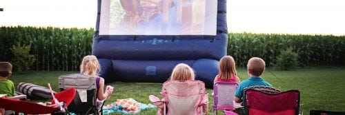 Close Out Summer with a Movie on the Lawn @ Irsay Family YMCA at CityWay | Indianapolis | Indiana | United States