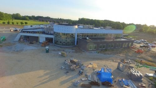 OrthoIndy Foundation YMCA drone pic