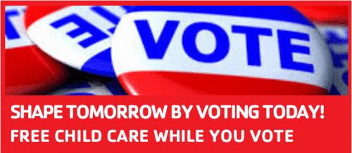 Free Childcare While Your Vote! @ Benjamin Harrison YMCA | Indianapolis | Indiana | United States