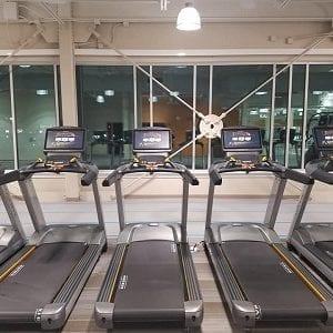 65 pieces of cardio equipment