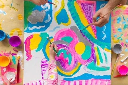 Family Painting Challenge | Cookies and Canvas | Hendricks Regional Health | YMCA of Greater Indianapolis