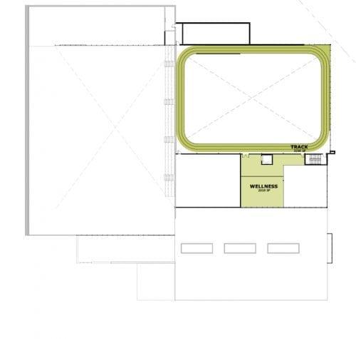 Third Floor - Floor Plan | YMCA in Westfield | YMCA of Greater Indianapolis