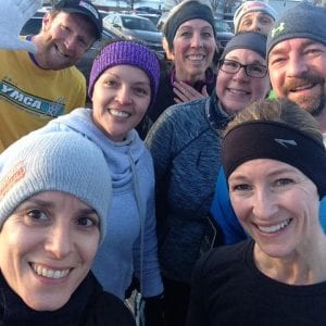 Fishers YMCA running group