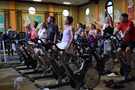 2018 Cycle-A-Thon at the Y at the Athenaeum