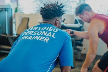 Certified Personal Trainers at the YMCA
