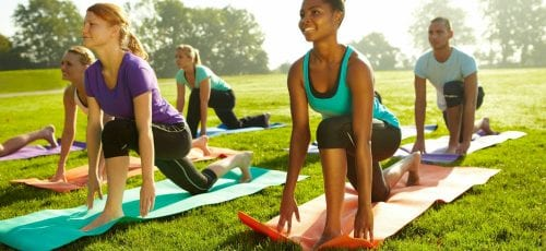 CityWay Sunrise Yoga @ The Alexander Plaza | Indianapolis | Indiana | United States
