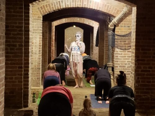 katy yoga catacombs