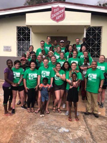 Salvation Army | Spring Break 2018 | Mandeville Jamaica | Intercollegiate Y
